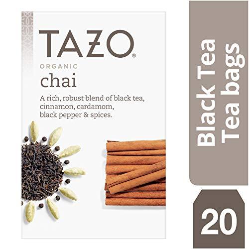 Tazo Organic Chai Black Tea Filterbags 20 count