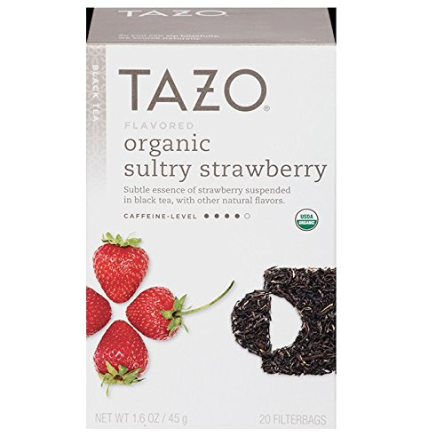 Tazo Tea Sultry Strawberry 20 Count