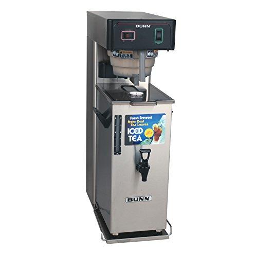 BUNN 36700 Commercial Iced Tea Brewer with Portable Server 3 gallon BlackStainless Steel