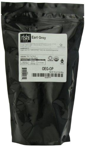 Rishi Tea Organic Earl Grey Loose Leaf Tea 1 Pound Bag