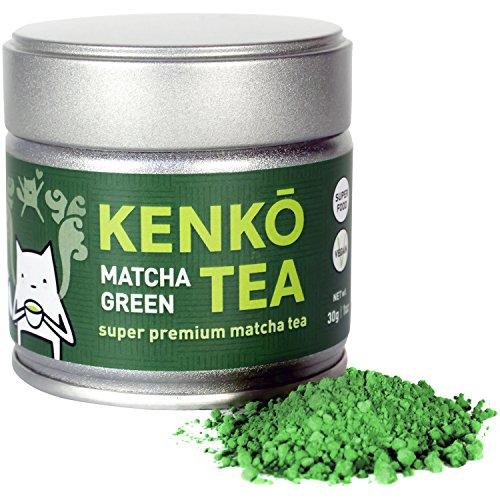 KENKO - Premium Matcha Green Tea Powder - 1st Harvest - Special Drinking Blend for Top Flavor - Best Tasting Ceremonial Grade Matcha Tea Powder - Japanese -30g 1oz