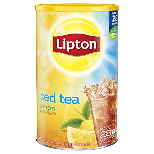 Lipton Iced Tea Mix Lemon 705 Ounce  Pack of 2