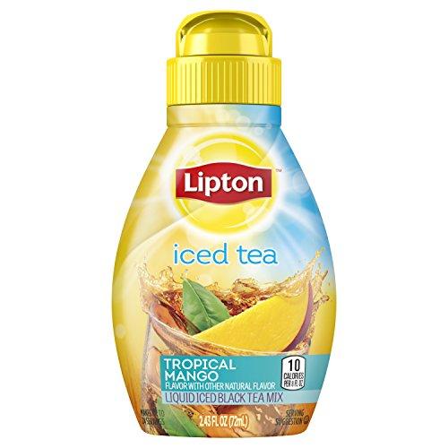 Lipton Liquid Iced Tea Mix Tropical Mango 243 oz