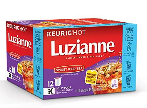 Luzianne Sweet Iced Tea Keurig K-Cups 72 Count