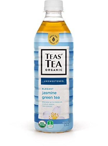 Teas Tea Unsweetened Jasmine Green Tea 169 Ounce Pack of 12 Organic Zero Calories No Sugars No Artificial Sweeteners Antioxidant Rich High in Vitamin C