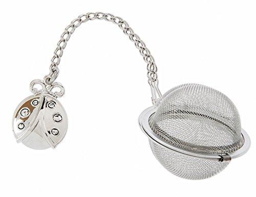 Ladybug Charm Tea Infuser Ball - By Ganz