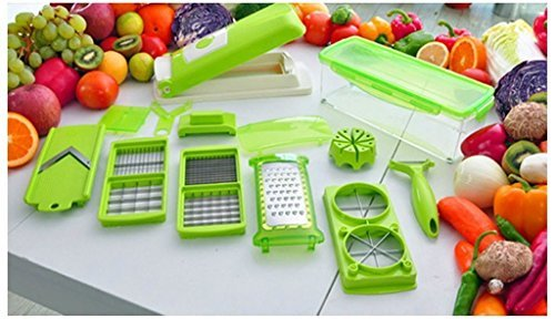 Food Salad Vegetable All-in-one Potato Onion Tomato Apple Egg And Garlic Dicer Chopper Cutter Mandolin Slicer