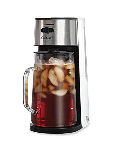 Capresso 62402  Ice Tea Maker WhiteStainless