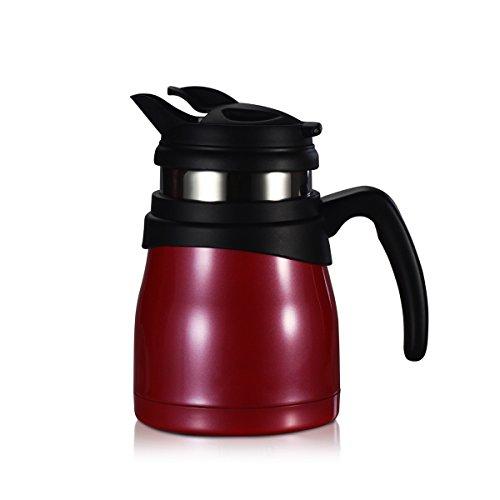 Timolino PCE-52VTESGR 17-Ounce Travette Coffee and Tea Maker Raspberry Red