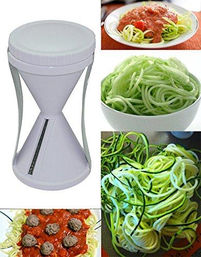 Unves Spiral Vegetable Slicer: the best Stainless Steel Vegetable Slicer - Special Japanese Blades Vegetable Cutter...