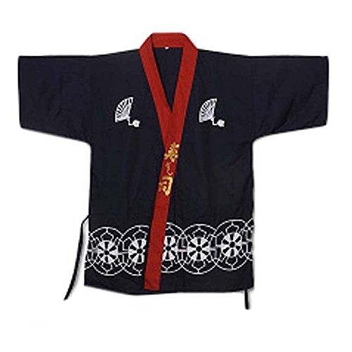 George Jimmy Japanese Restaurant Waiter Clothes Half Sleeve Uniform Sushi Chef Jacket 21