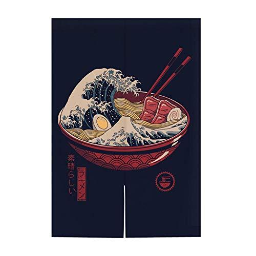 Hornet Park Japanese Style Restaurant Household Kitchen Door Curtain Ramen Sushi 315 x 512 inches A