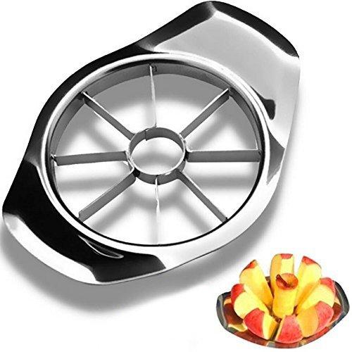 Apple Slicer, [promotion] Anwenk® Stainless Steel Apple Cutter Slicer Multi-function Fruit Divider And Corer