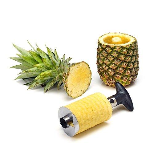 Statko® Stainless Steel Pineapple Slicer, Peeler And Corer - 3 In 1 Tool (see Notice Below)