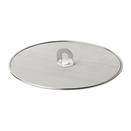 Ikea 10112530 Stabil Splatter Screen Stainless Steel 13-Inch Silver