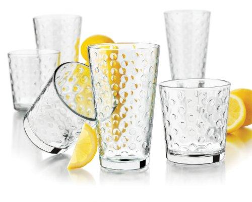 Libbey Awa 16-Piece Glassware Set