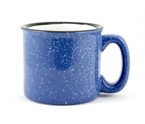 Marble Creek Ceramic Mug 15oz - Set of 4 Sky Blue