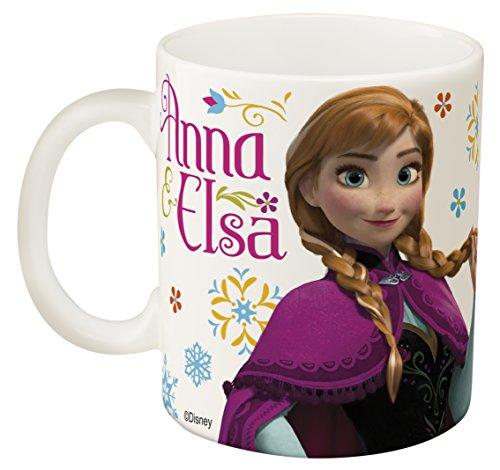 Zak Designs Ceramic Mug with Elsa and Anna from Frozen 115 oz