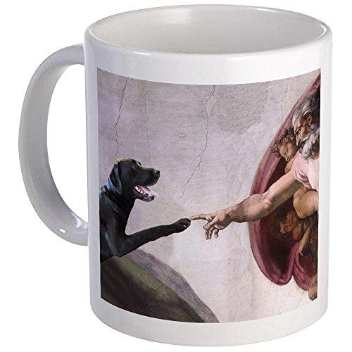 CafePress - Black Lab Mug - Unique Coffee Mug Coffee Cup