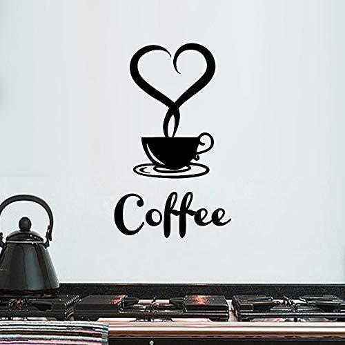 Home DecorHome Decorations for Living Room Beautiful Design Coffee Mugs Tea Coffee Art Decal Vinyl Wall Sticker