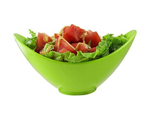 Dowan Large Salad Serving Bowls , 8.8*6*4.3 Inch
