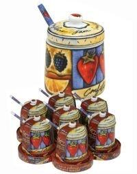 Harold Import 51718PRO Uptown Market Jam Jar Spoon
