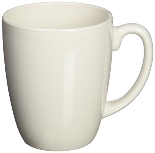 WORLD KITCHEN 6022022 White Mug 11-Ounce