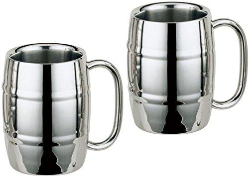 Stainless Steel Mug Barrel Mug Coffee Mug Beer Mug 16oz 2