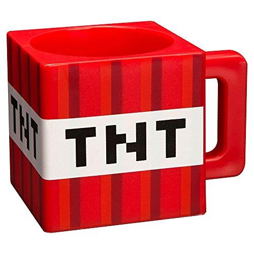 JINX Minecraft TNT Plastic Mug 98 ounces