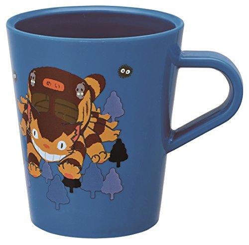 Skater Studio Ghibli My Neighbor Totoro Cat Bus Plastic Mug Cup KP5 capable of washing machine