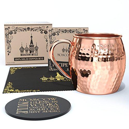 Krown Kitchen - Moscow Mule Copper Mug  16 oz