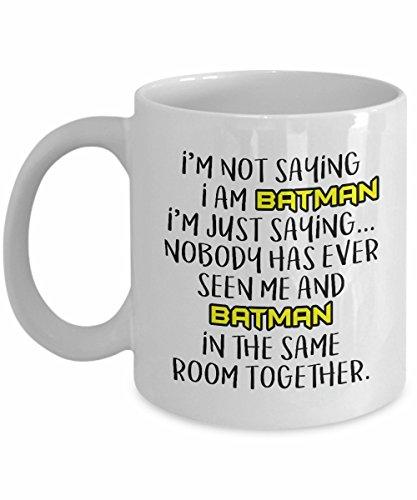 Batman Mug Batman Coffee Mug Mug Batman Gift Batman Cup Batman Coffee Mug Gift Batman Mugs Mugs Superhero Gift For him Christmas