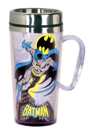 DC Comics Batman Insulated Travel Mug Black