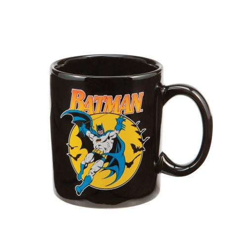 Vandor 76065 Batman Ceramic Mug Black 12-Ounce