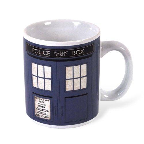 Boxed Doctor Who TARDIS Mug