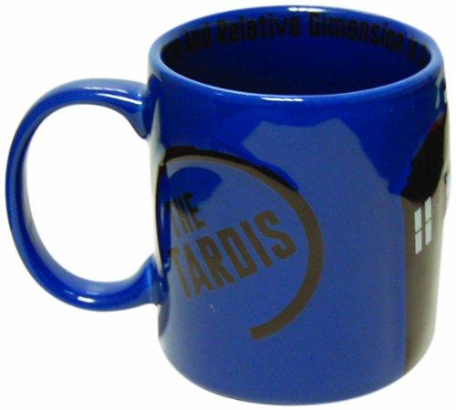 Doctor Who 2D Ceramic TARDIS Mug