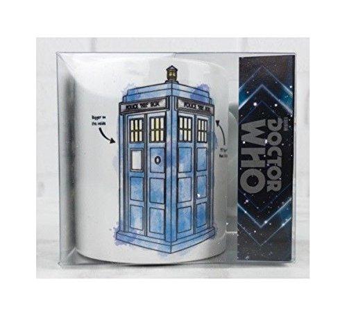 Doctor Who Watercolor TARDIS Mug