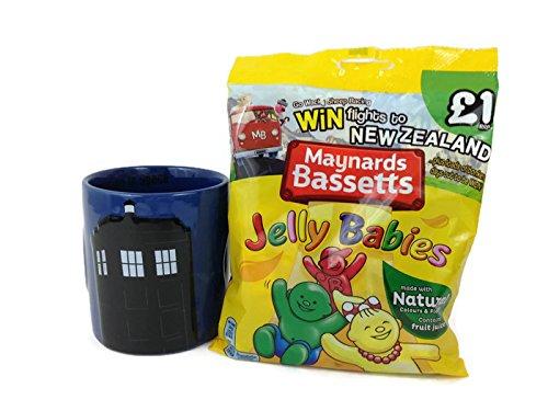 The Time Travellers Mug of Treats Gift Set Bundle Tardis