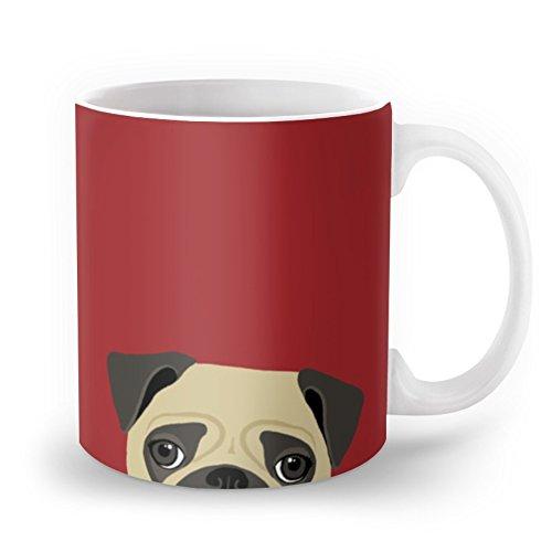 Society6 Pug Mug 11 oz