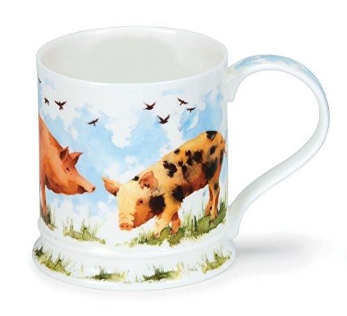 Dunoon Iona Farmyard Pig Mug