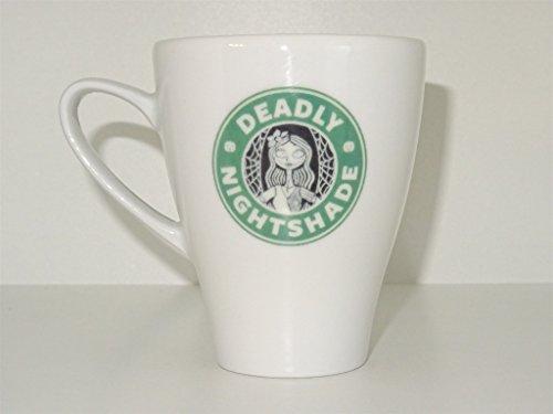 Deadly Nightshade mug princess Funny mug Cool mug Novelty mug Ceramic mug White mug Coffee Coffe cup printing mug gift mug