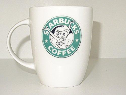 Sarbucks coffee mug princess ariel mug Funny mug Cool mug Novelty porcelain mug White mug Coffee Coffe cup printing mug gift mug