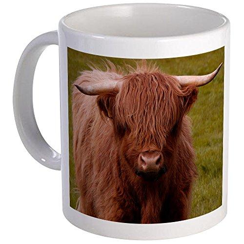 CafePress - Scottish Highland Cow Mug - Unique Coffee Mug Coffee Cup