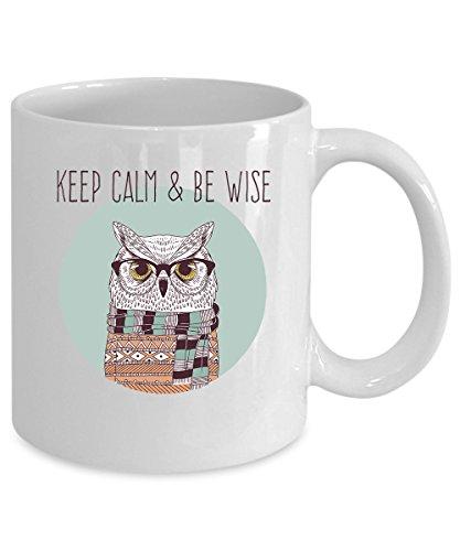 Owl Coffee Mug 11 oz Owl gift