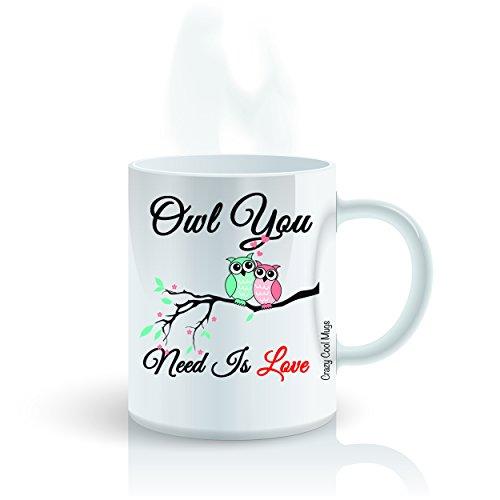 Owl You Need Is Love - 11 OZ Owl Coffee Mugs