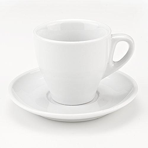 Cappuccino Mug Set of 4-white