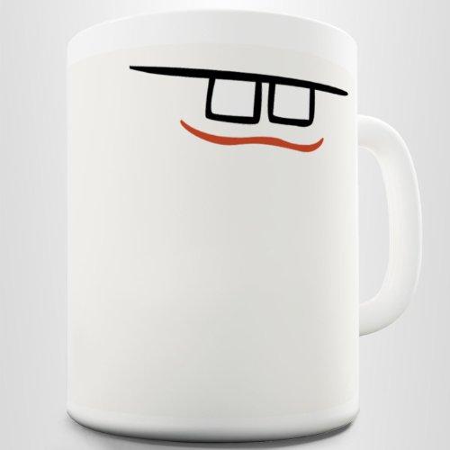 Goofy Teeth Joke Funny Coffee Mug Printed Cup