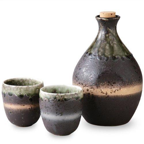Arita yaki CtoC JAPAN Sake setSake bottle x1pc Cup x2pcs Porcelain SizecmDiameter 109x167Diameter 65x7 ca058733