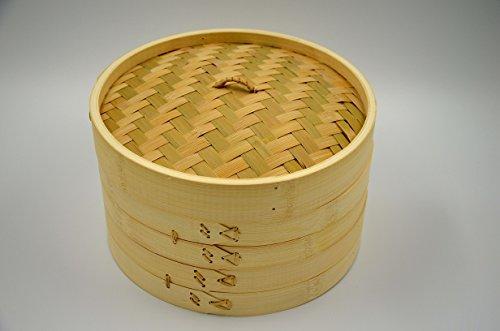Masterproofing 3-piece Bamboo Steamer Set 10-inch