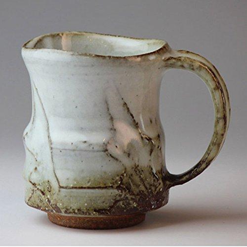 Hagiyaki Mug cup made in Japan Japanese pottery shuto24207